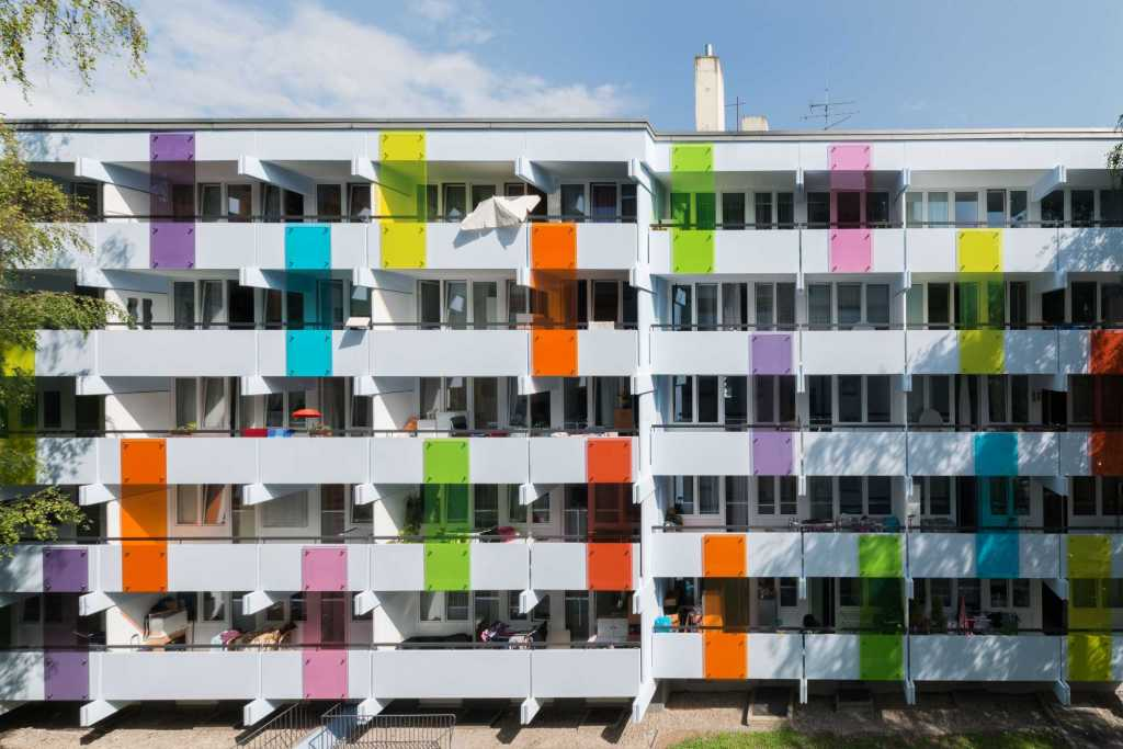 Bodenehrstraße 6 in München - Fassadengestaltung