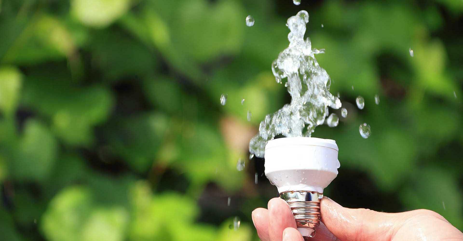 Strom und Wasser sparen