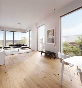 Luxus-Wohnung Blick ins Wohnzimmer
