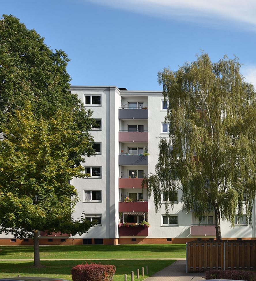 Modernisierte Wohnanlage in Hannover Anderten