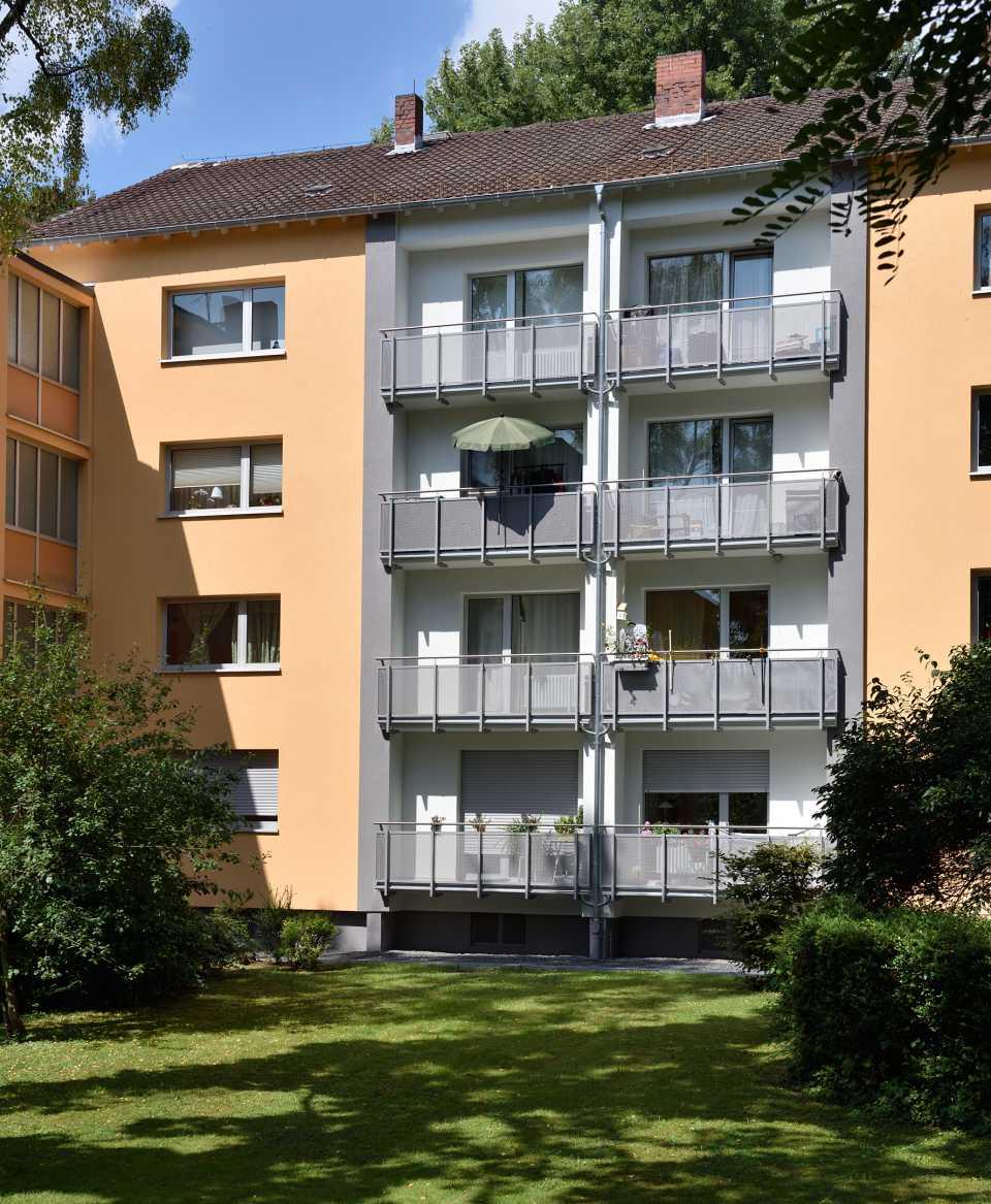 Modernisierte Wohnanlage in Wiesbaden